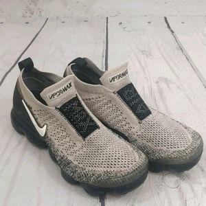 Nike Air Vapormax Flyknit Running Trainers Black
